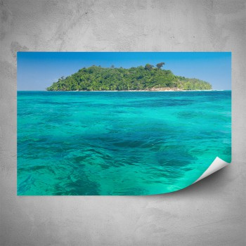 Plakát -  Malý ostrov