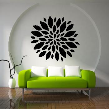 Samolepka na zeď - Velký květ