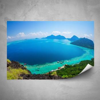 Plakát -  Průzračné moře