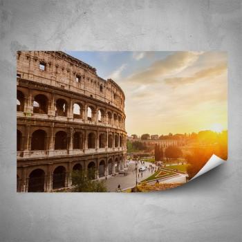 Plakát - Římské Koloseum