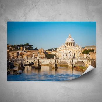 Plakát - Italská architektura