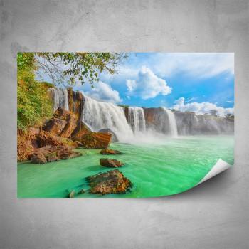 Plakát - Vodopády