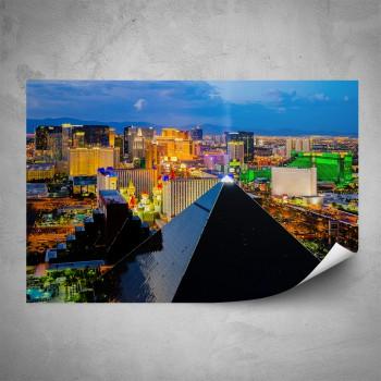 Plakát - Černá pyramida ve Vegas