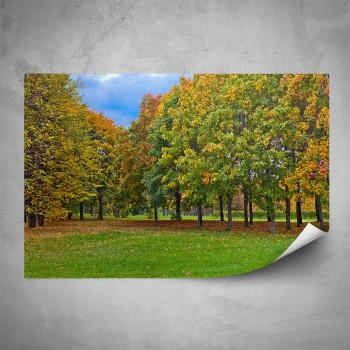 Plakát - Podzim v parku