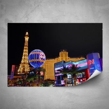 Plakát - Noční Las Vegas