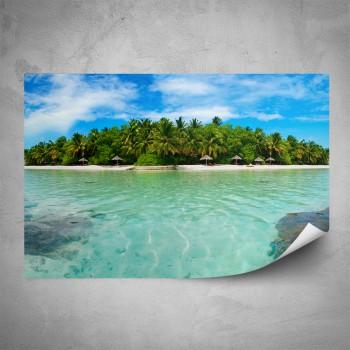 Plakát - Ostrov v moři