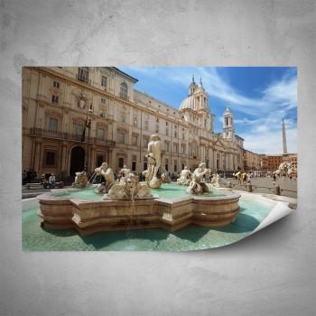 Plakát - Piazza Navona