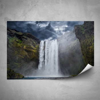 Plakát - Vysoký vodopád