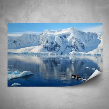 Plakát - Tající ledovec