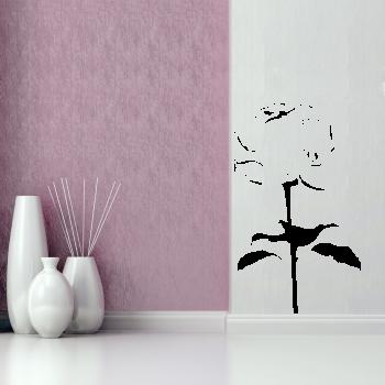 Samolepka na zeď - Růže