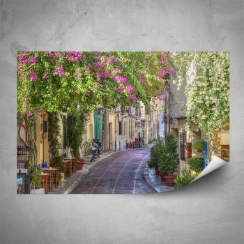 Plakát - Květinová ulička