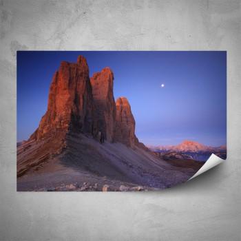 Plakát - Červená hora