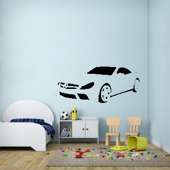 Samolepka na zeď - Mercedes auto