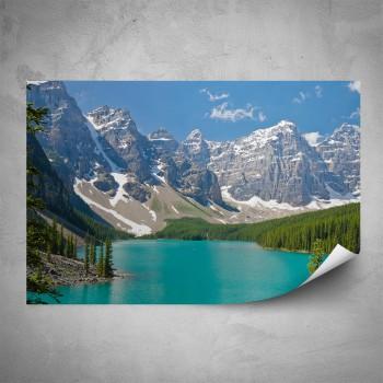 Plakát - Modré jezero