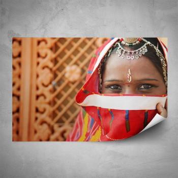 Plakát - Indická dívka