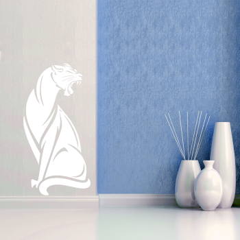 Samolepka na zeď - Art puma