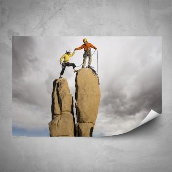 Plakát - Výstup na vrchol