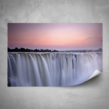 Plakát - Obří vodopád