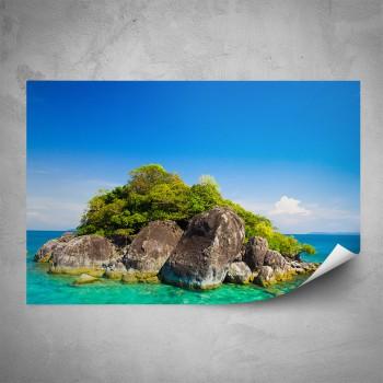 Plakát - Ostrůvek v moři