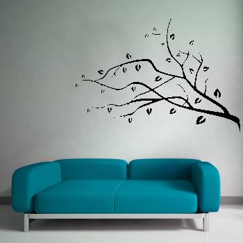 Samolepka na zeď - Větvička