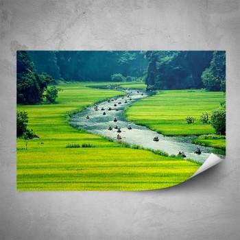 Plakát - Plavba po řece