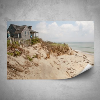 Plakát - Dům na pláži