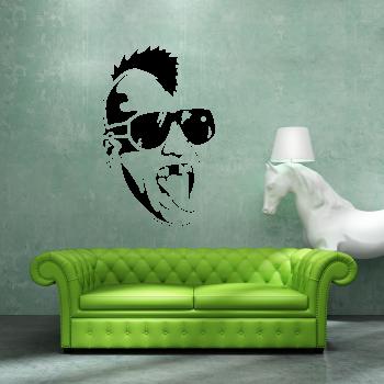 Samolepka na zeď - Punkáč