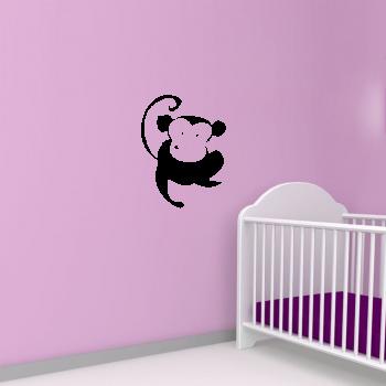 Samolepka na zeď - Opička