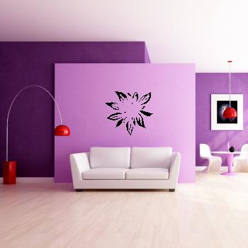 Samolepka na zeď - Květ
