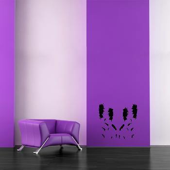 Samolepka na zeď - Slunečnice