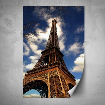 Plakát - Eiffelova věž 2