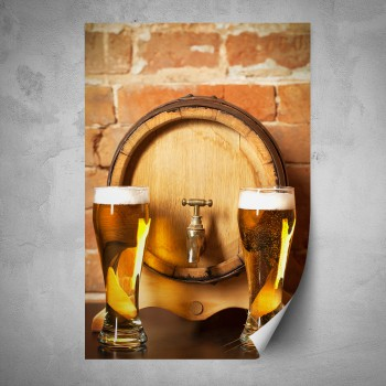 Plakát - Dvě piva