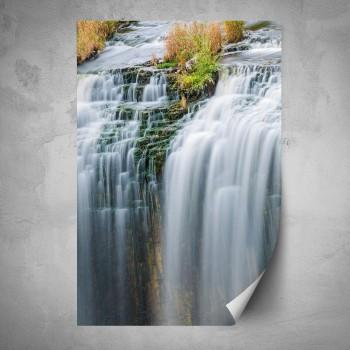 Plakát - Tekoucí vodopád 2