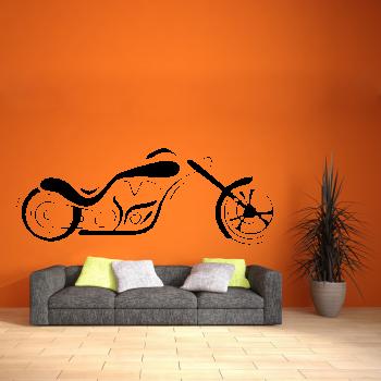 Samolepka na zeď - Chopper