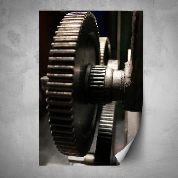 Plakát - Ozubené kolo