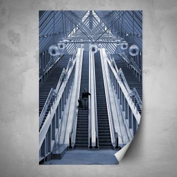 Plakát - Eskalátory