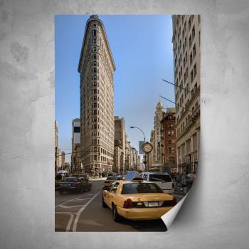 Plakát - Doprava v New Yorku