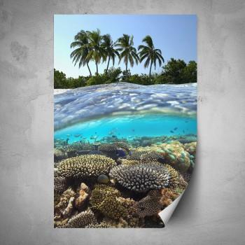 Plakát - Příroda v Karibiku