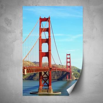 Plakát - Velký červený most