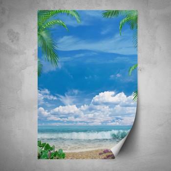 Plakát - Vlny na pláži