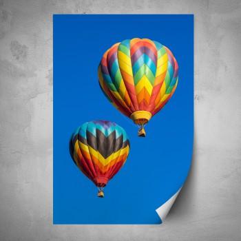 Plakát - Balóny v letu