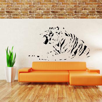 Samolepka na zeď - Indický tygr