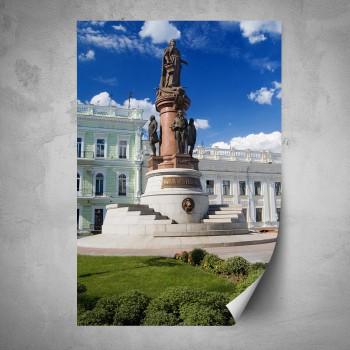 Plakát - Památník zakladatelů Odessy