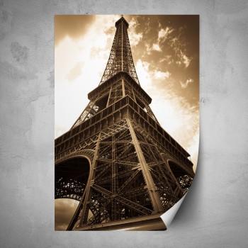Plakát - Eiffelova věž 3