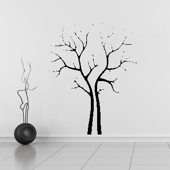 Samolepka na zeď - Zimní strom