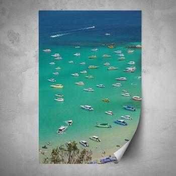 Plakát - Přístaviště lodí