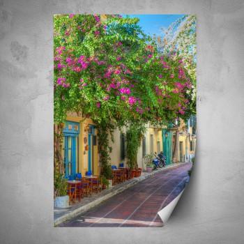 Plakát - Kvetoucí ulička