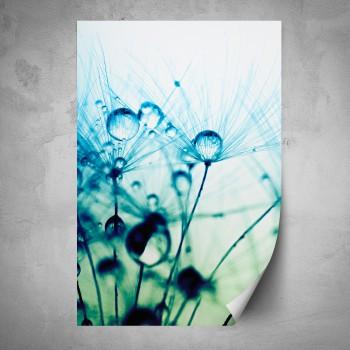 Plakát - Modré makro