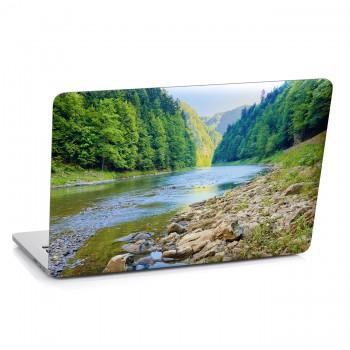 Samolepka na notebook - Řeka