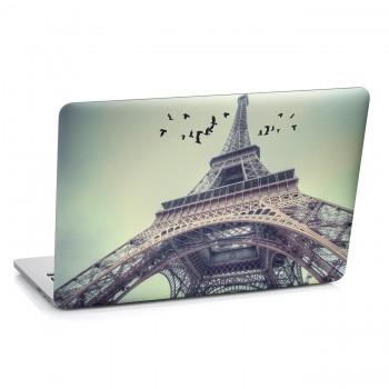 Samolepka na notebook - Pohled na Eiffelovu věž